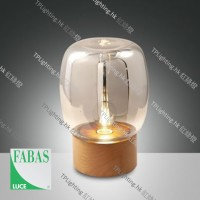 fabasluce paddock 3537-30-299 01 wood table lamp 枱燈