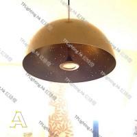 anagraphic starrylight lamp matt gold pendant designer light
