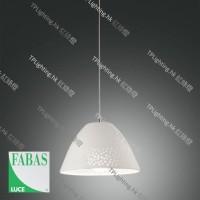 fabasluce casale 3532-40-102 pendant lamp ceramic white