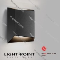 light point facet outdoor wall lamp up down