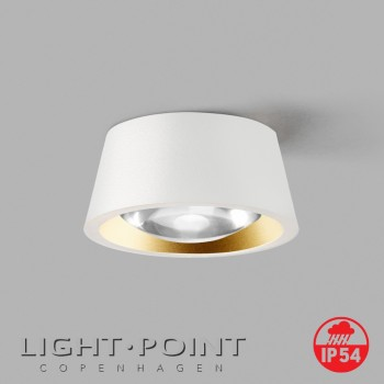 light point optic out 1+ white gold lamp