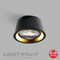 light point optic out black gold lamp ip54