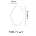 light point soho w3 dimension