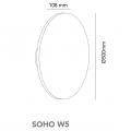 light point soho w5 dimension