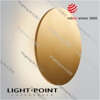 light point soho w5 gold wall lamp reddot 2020