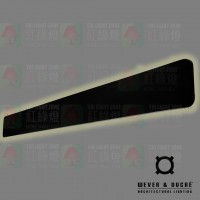 wever ducre miles 12.0 black led wall lamp