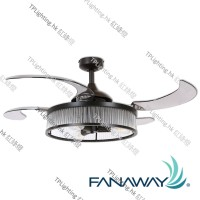 212928 fanaway corbelle retractable blade ceiling fan