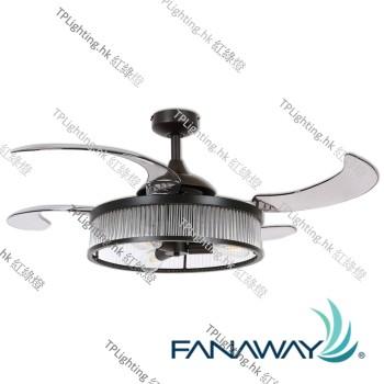 212928 fanaway corbelle retractable blade ceiling fan