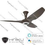 haiku 52 oil rubbed bronze short mount oil rubbed bronze led light ceiling fan