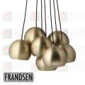 frandsen lighting ball multi brushed brass