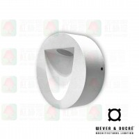 wever ducre smile on 1.0 wall lamp white