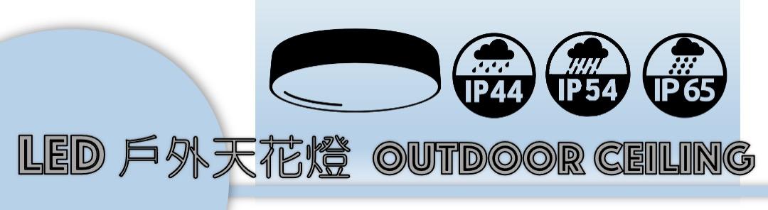 戶外天花燈 outdoor ceiling lighting banner