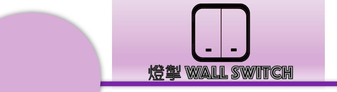 燈掣 wall switches banner
