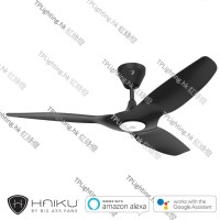 haiku l series g2 black 52 ceiling fan led light kit
