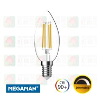 megaman lc208053 dm led filament e14