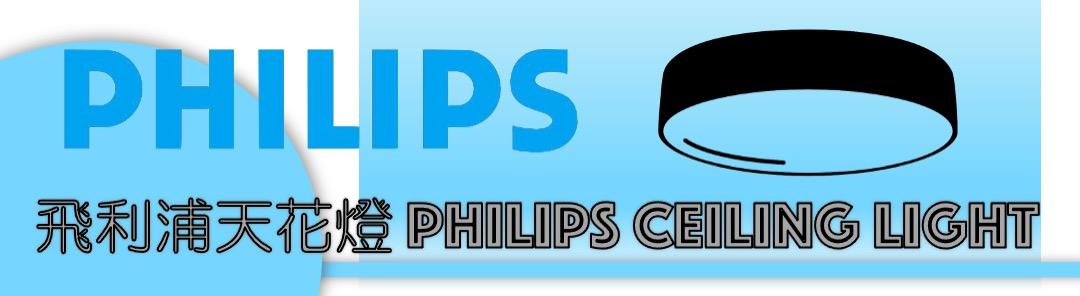 philips ceiling light banner