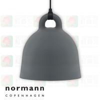 normann copenhagen bell grey medium pendant lamp