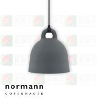 normann copenhagen bell grey small pendant lamp
