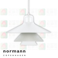 normann copenhagen ikono large grey pendant lamp