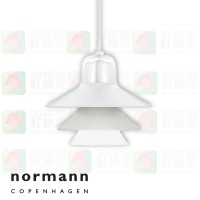 normann copenhagen ikono small grey pendant lamp