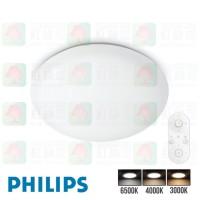 philips cl505 toba plain aio remote led ceiling light