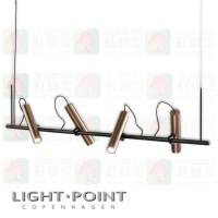 light point spirit s1500 pendant rose gold led pendant light