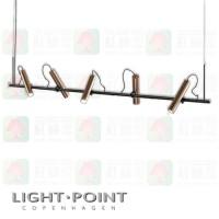 light point spirit s2000 pendant rose gold led pendant light