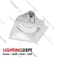 lighting department rm0901-es50 gu10 led recessed spot