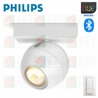 philips 50471 hue buckram 1 spot light white tplighting