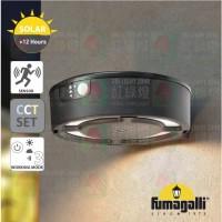 fumagalli fortunato solar water proofed outdoor wall lamp