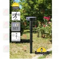 fumagalli fortunato solar water proofed spike lamp pole lamp