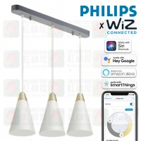 philips 44049 ethereal 3 pendant lamp wiz connect a60 e27