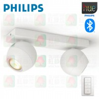 philips hue 50472 buckram bluetooth double spotlight 50472 white 飛利浦 tplighting
