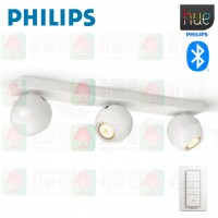 philips 50473 buckram bluetooth tripple spotlight 50473 white 飛利浦