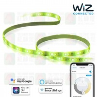 wiz rgb 2m lightstrip starter kit smart light