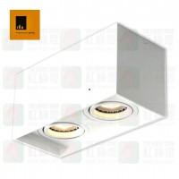 ted lighting sdg07006 white surface mount light 盒仔燈