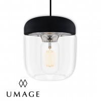 umage acorn black top chrome pendant lamp 吊燈 燈飾