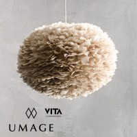 umage eos large brown feather pendant lamp 吊燈 燈飾