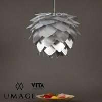 umage vita lighting silvia steel silver mini pendant light