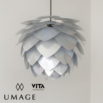 umage vita lighting silvia steel silver pendant lamp 吊燈 燈飾