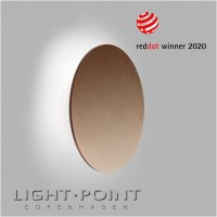 light point soho w4 led wall lamp rose gold