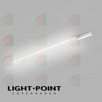 light point stripe cw s1500 white led ceiling light wall lamp