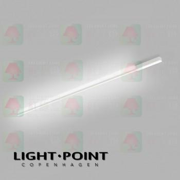 light point stripe cw s1500 white led ceiling light wall lamp