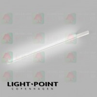 light point stripe cw s2000 white led ceiling light wall lamp