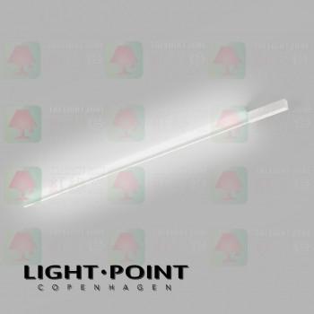 light point stripe cw s2000 white led ceiling light wall lamp