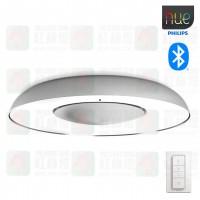 philips hue 32613 still silver aluminium ceiling light bluetooth