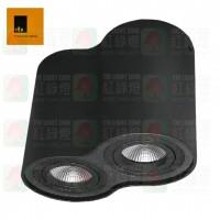 ted lighting sdg7002 black surface mounted 盒仔燈