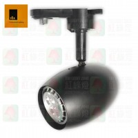 ted lighting ttl-b30g black track light gu10 路軌燈