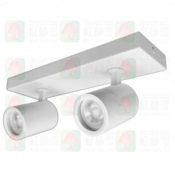fl-1212-gu10-sm-2-wh white surface mount spot