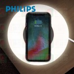 philips 66134 bedside 床頭燈 wireless charger for mobile phone 1